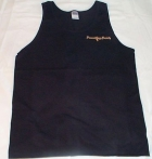 Black Tank w/PJS  Pocket Logo