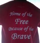 Pjazz Red Shirt Ladies & Mens