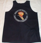 Black Tank W/PJS Badge Logo